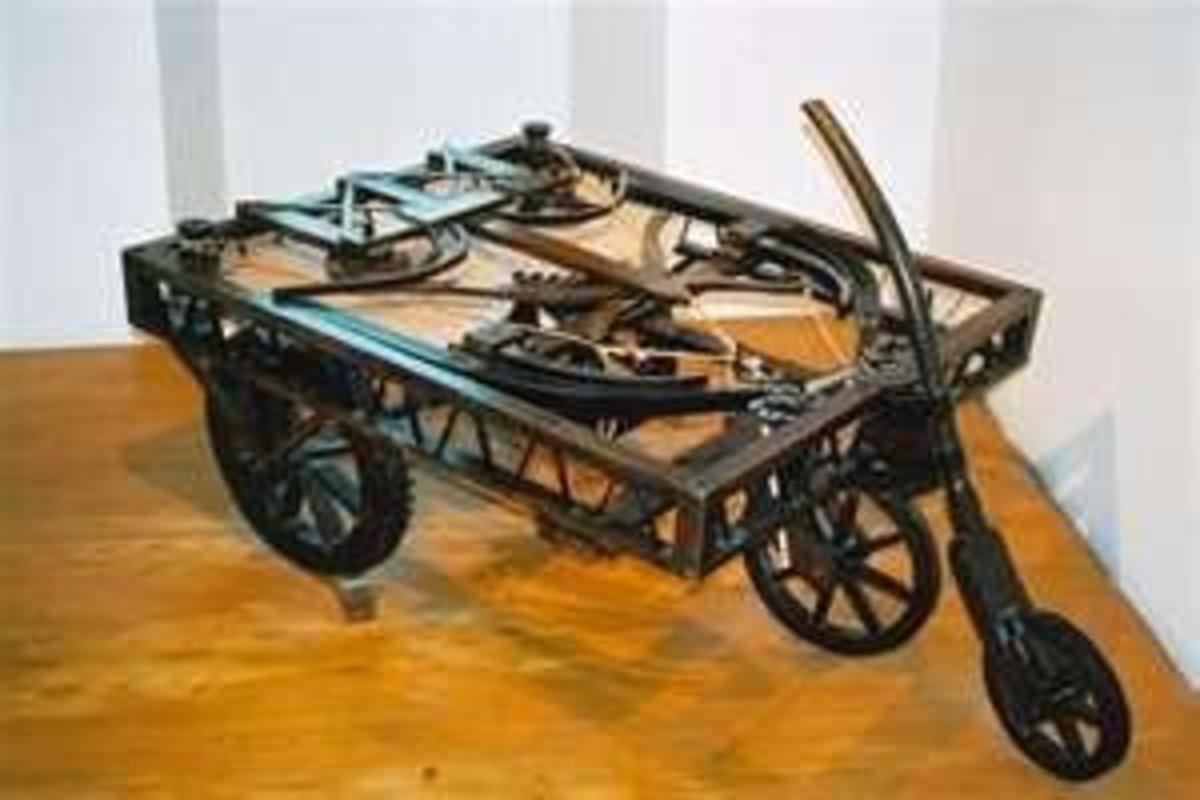 Modern Recreation of His Car