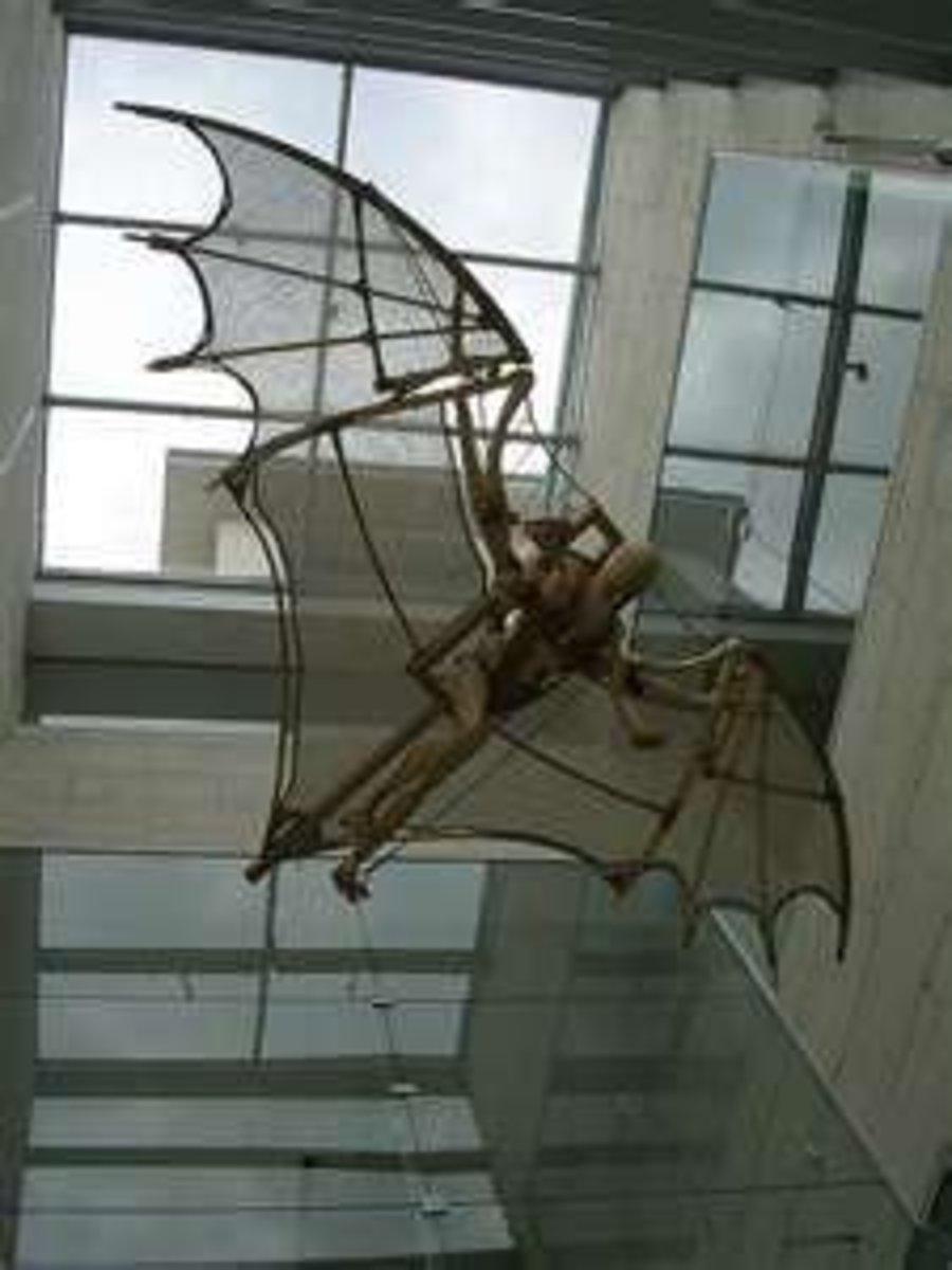 Modern Recreation of Bat Wings Glider Design