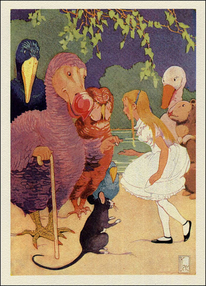 Gertrude Kay Alice In Wonderland Illustration