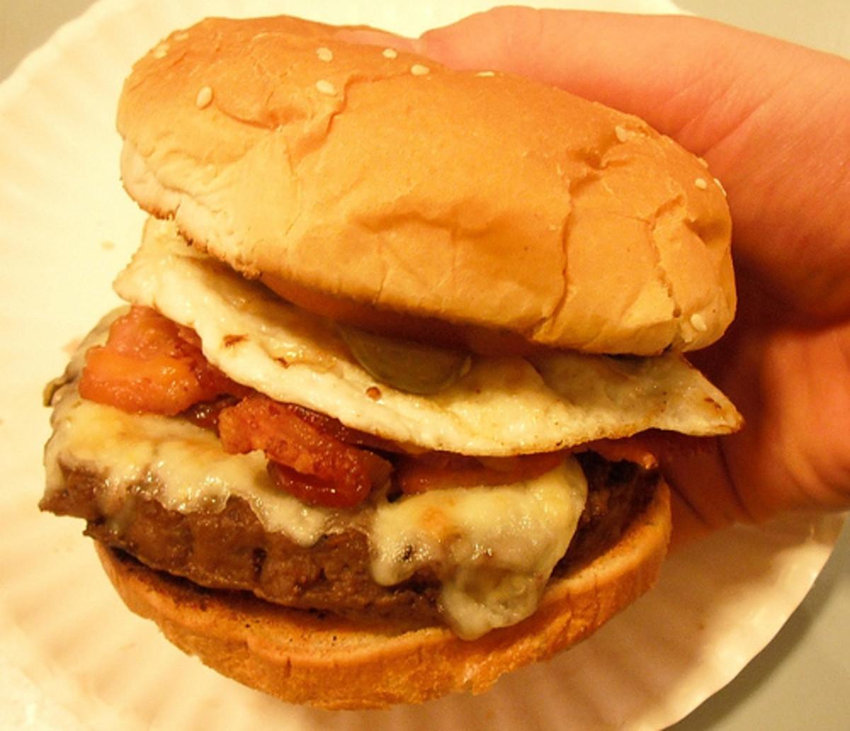 Bacon & Egg Cheeseburger