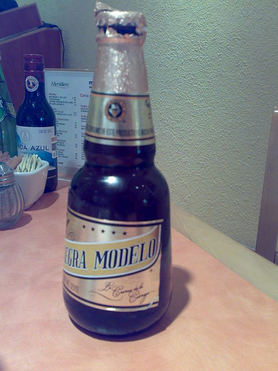 Our beverage of choice in Mexico.
