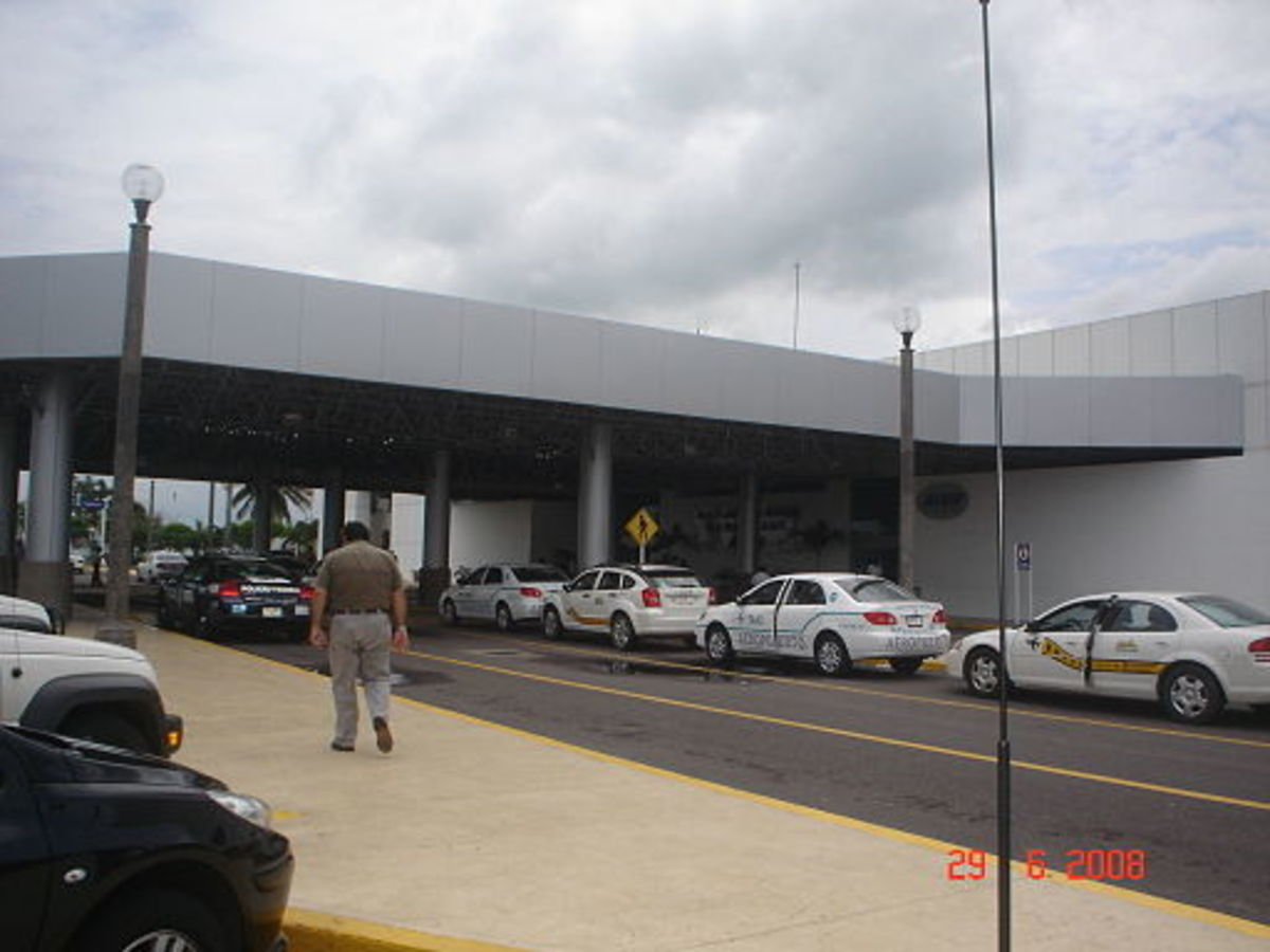 Taxis at the Veracruz International Airport
