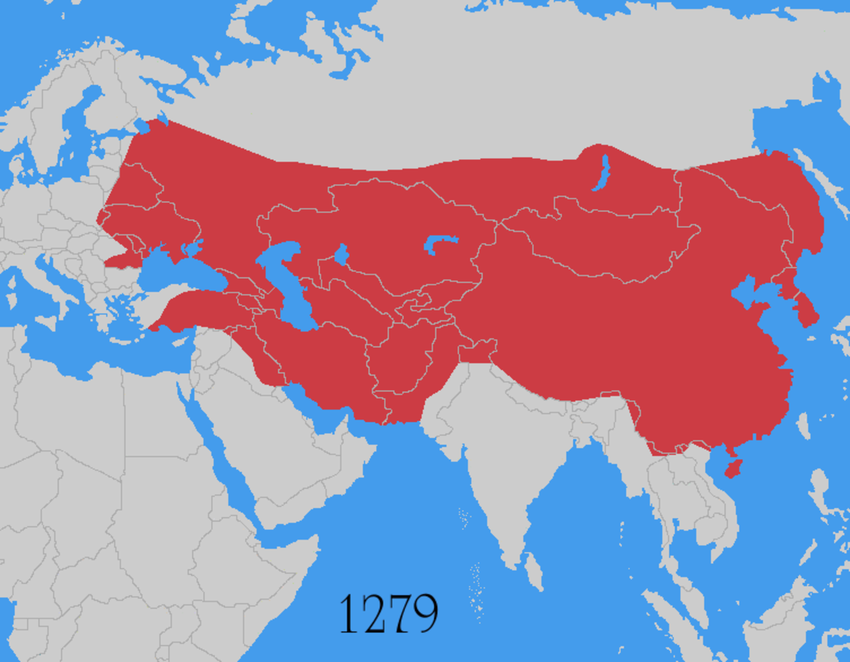 the-scale-of-genghis-khans-empire