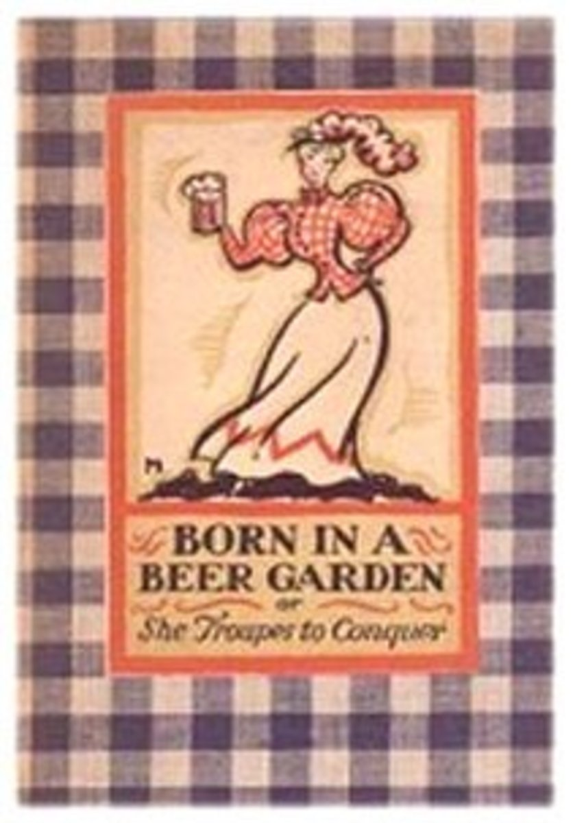 Born in a Beer Garden: SheTroupes to conquer: a parody