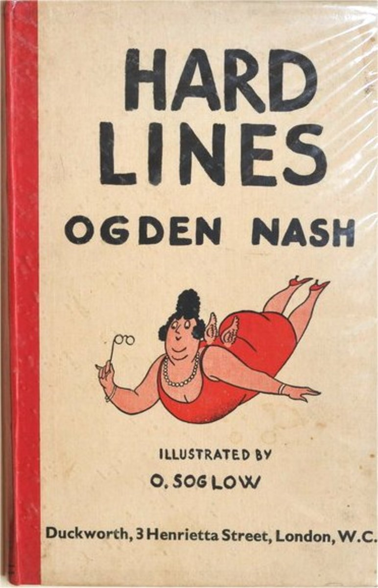 Hard Lines: Ogden Nash's first collection (1931)