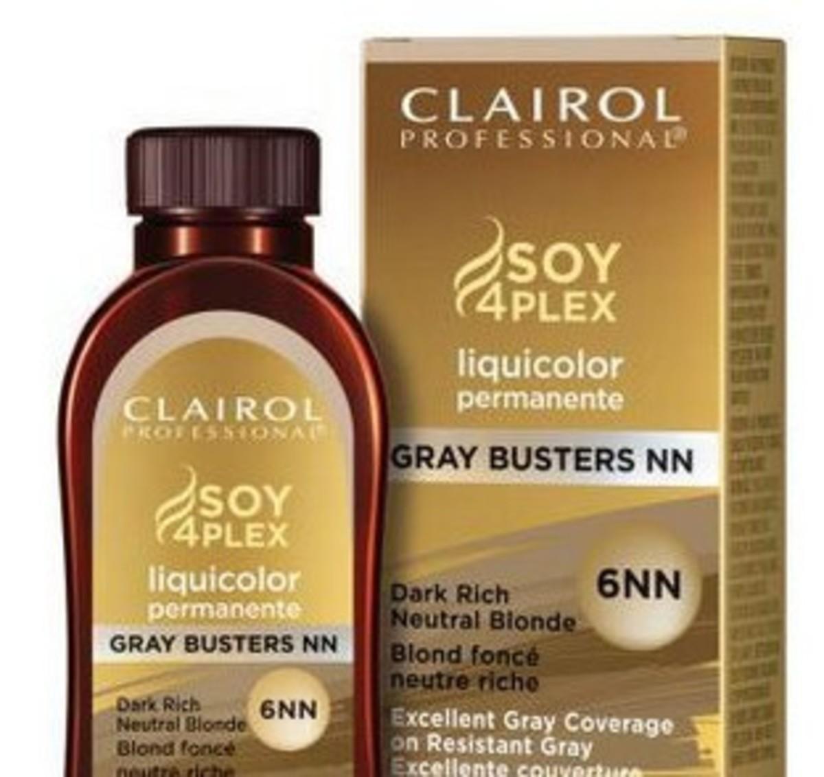 Clairol Professional Soy 4 Plex Liquid Permanent Haircolor