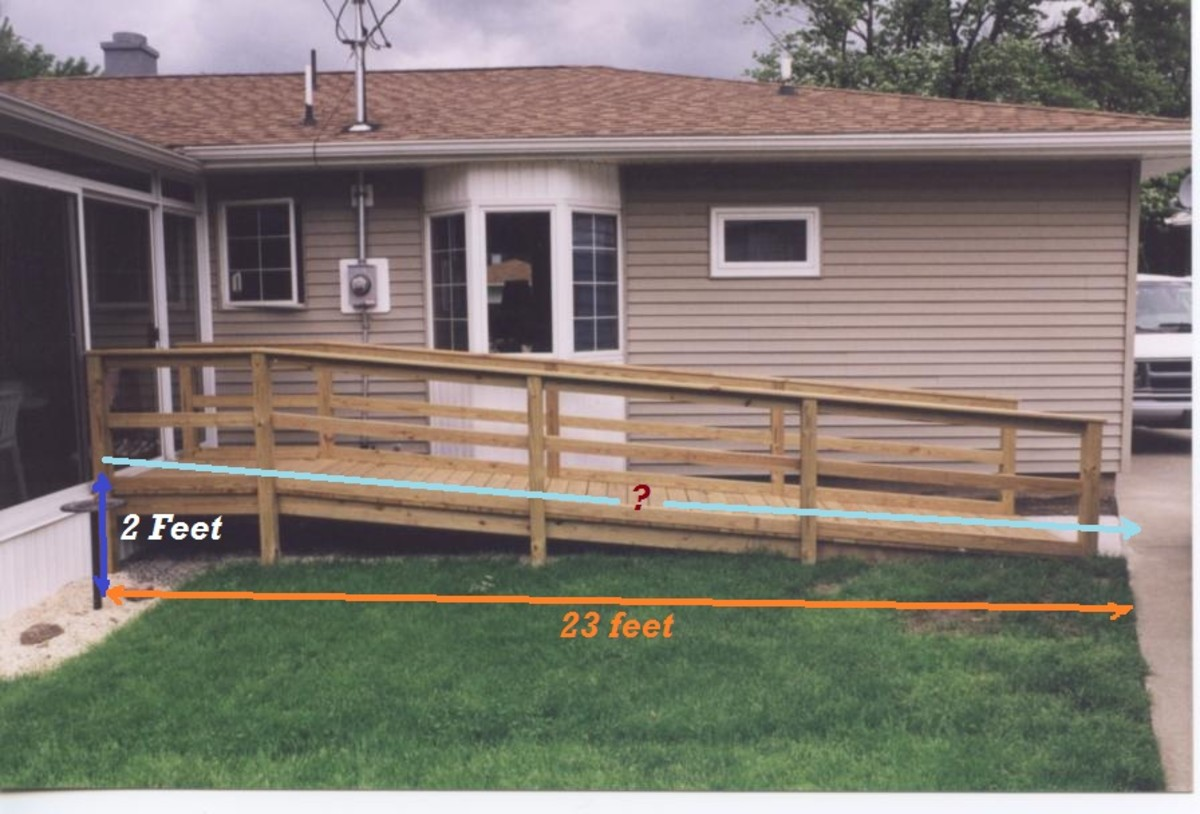 A ramp too short for side of the House?