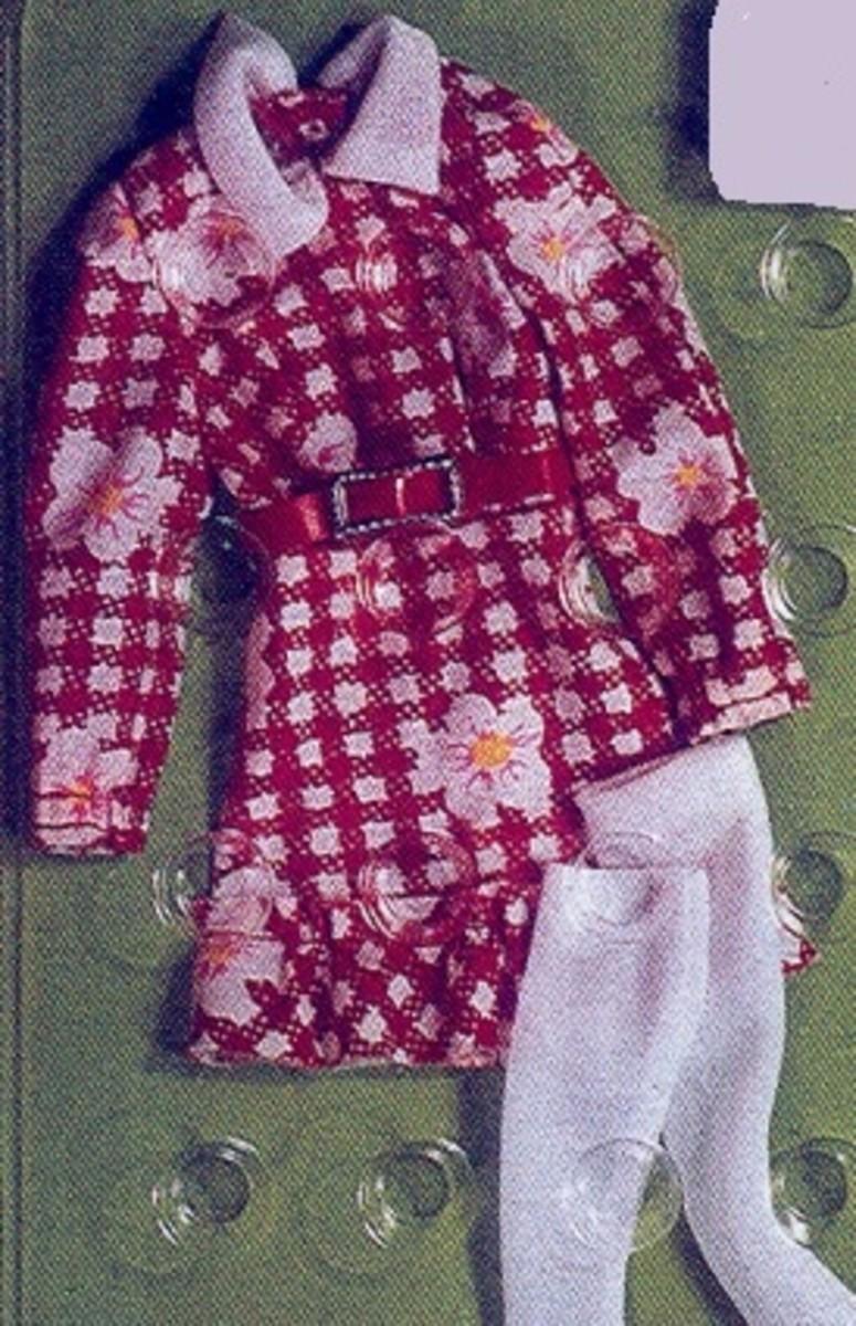 Francie Doll fashion #8645; 1973