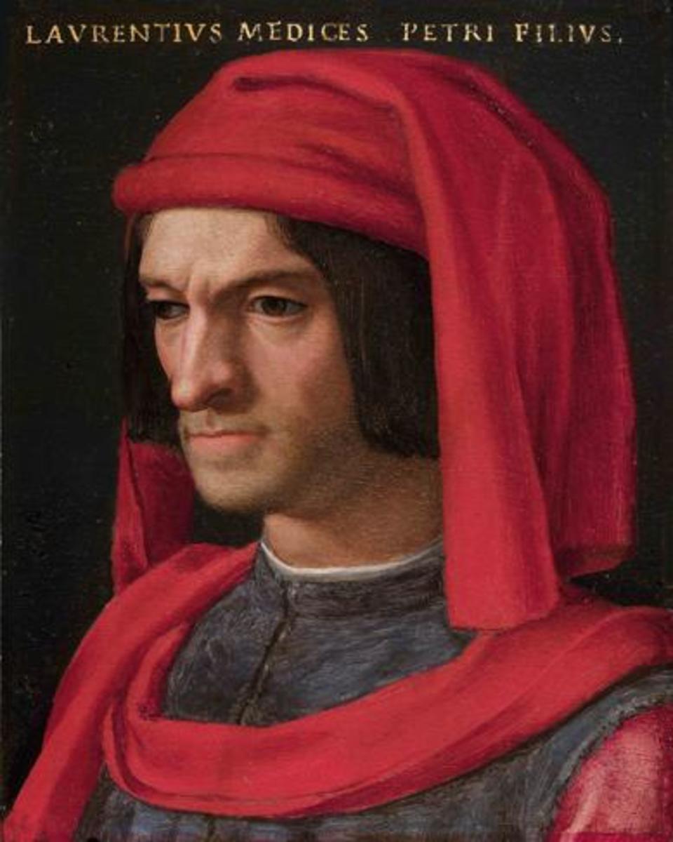 Portrait of Lorenzo the Magnificent. 1555-1565.
