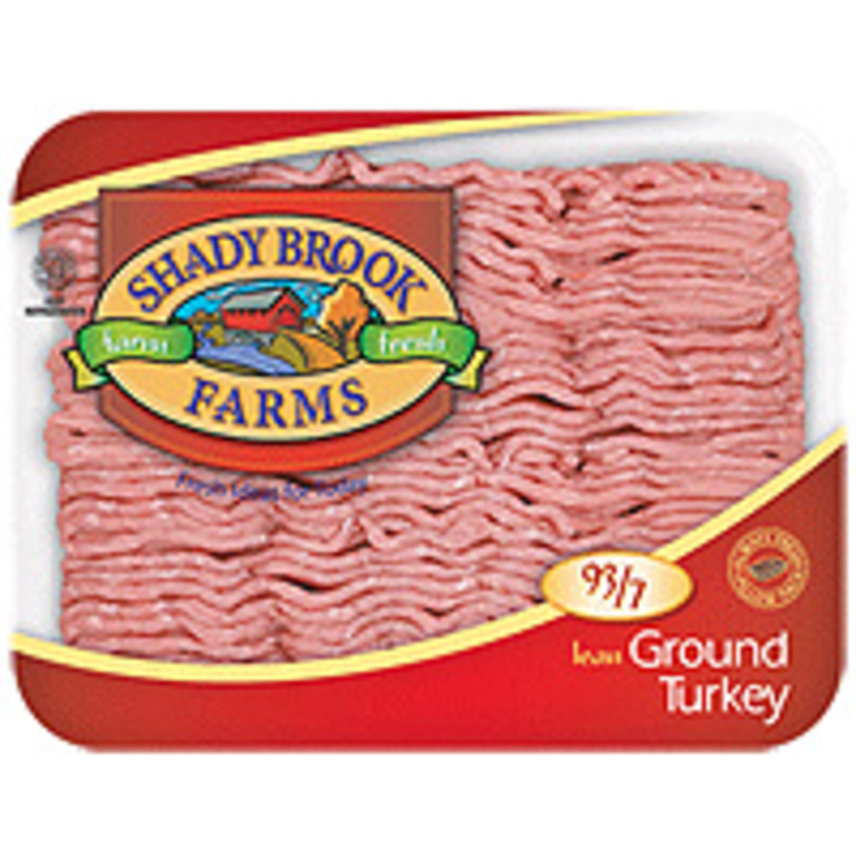 Ground turkey is tasty and much healthier than ground beef. It also is less expensive. In this recipe, you hardly notice the difference!