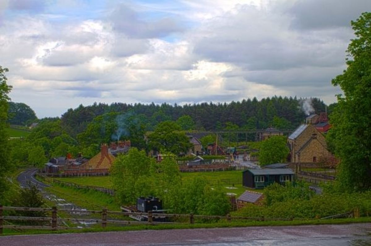 Beamish Pit Village, England