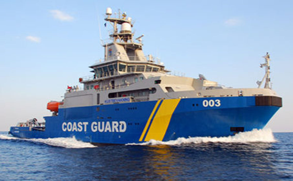 Swedish Navy Coast Guard Ship