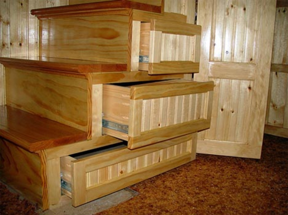 Creative Stora ge Underneath the Stairs - Beautiful Wooden Drawers