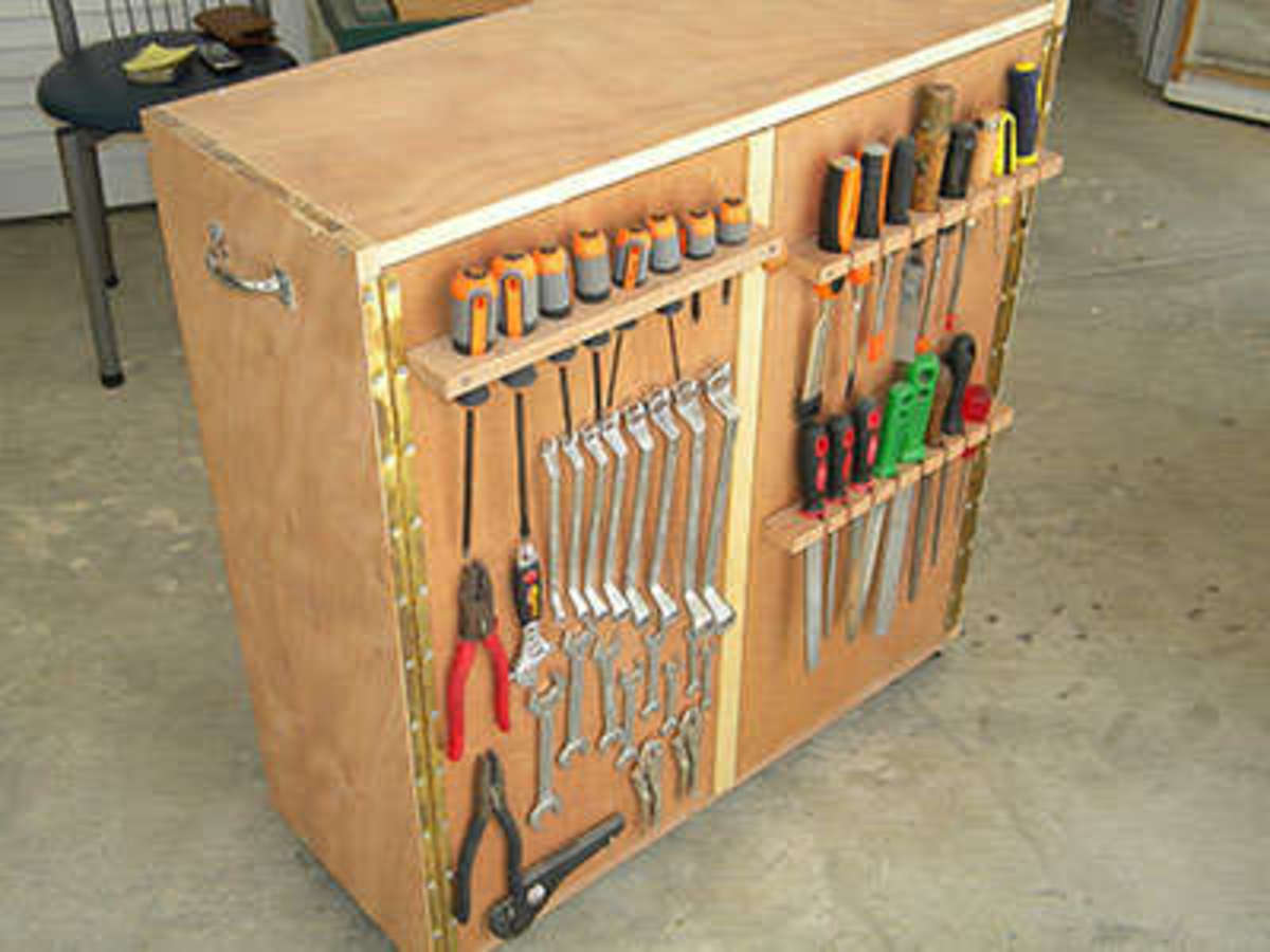 Peg Board Super Storage Center