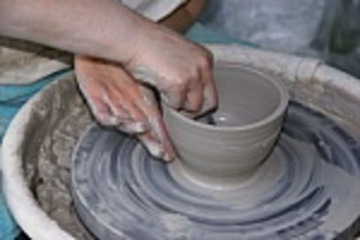 Have fun making  pots and bowls