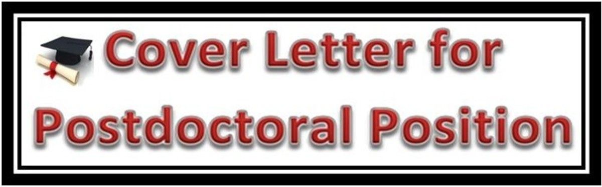 writing cover letter for a postdoctoral position