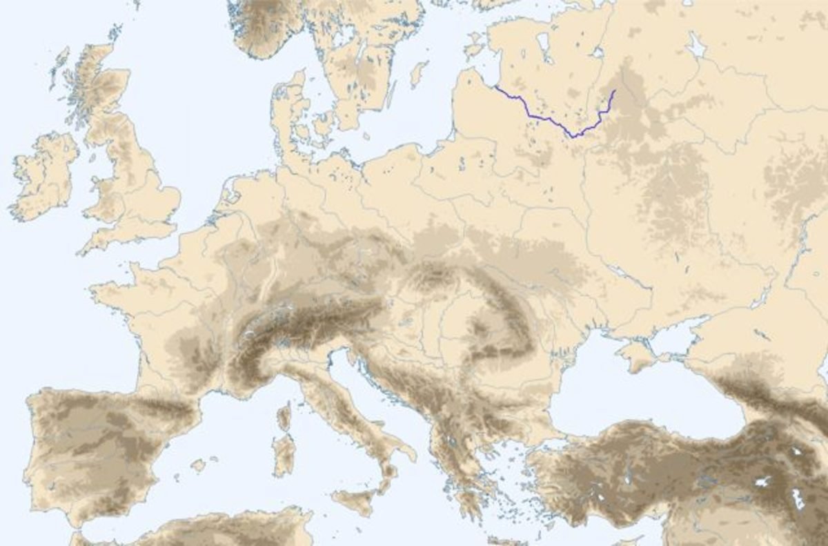 Riverways in the Baltic and east - all 'roads' lead to Byzantium. Traders and raiders used the river routes to enrich themselves