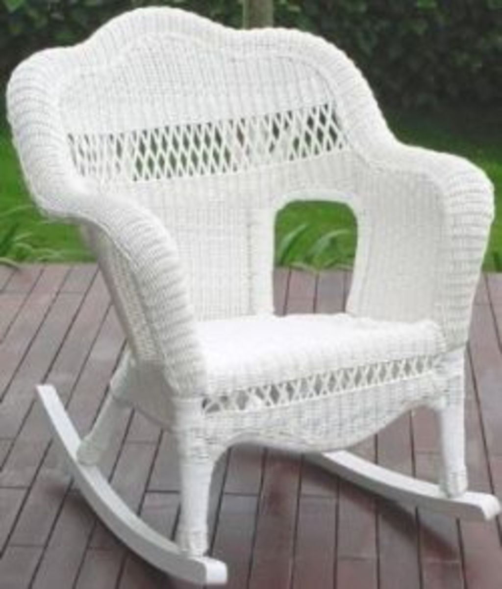 How to restore wicker furniture hubpages for Recover wicker furniture