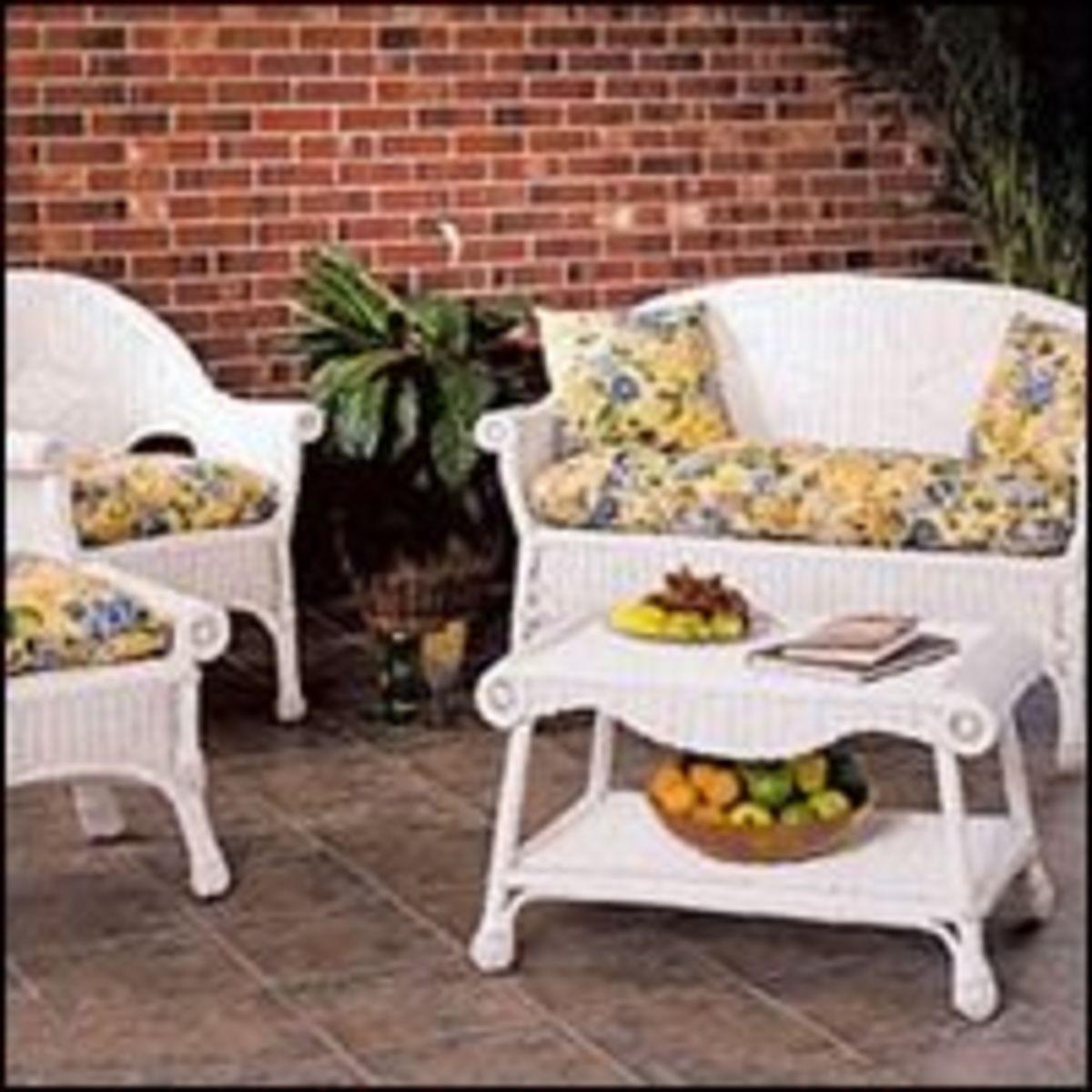 Restoring Wicker Furniture Paint