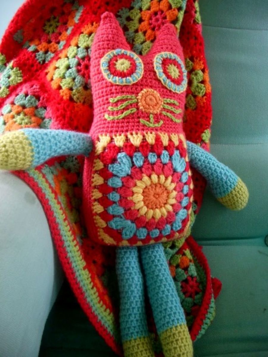 Kitty Cat Free Crochet Instructions - Free Crochet Toy Patterns