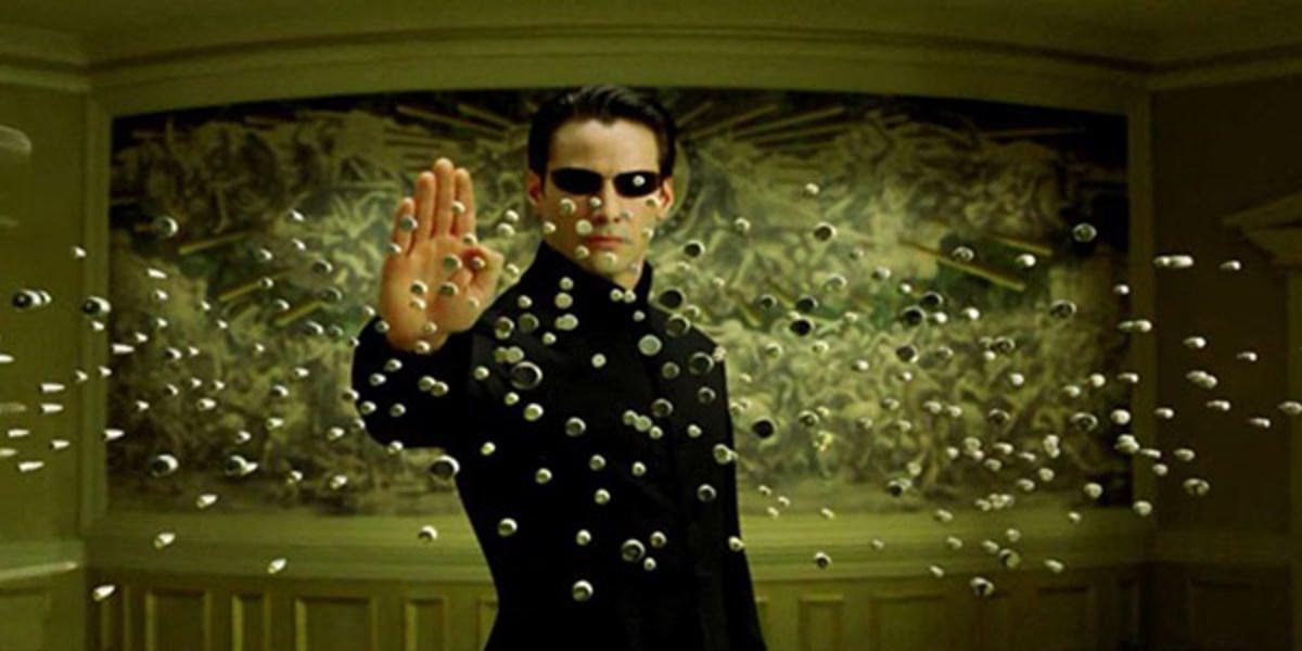 "Scene from ""The Matrix"""