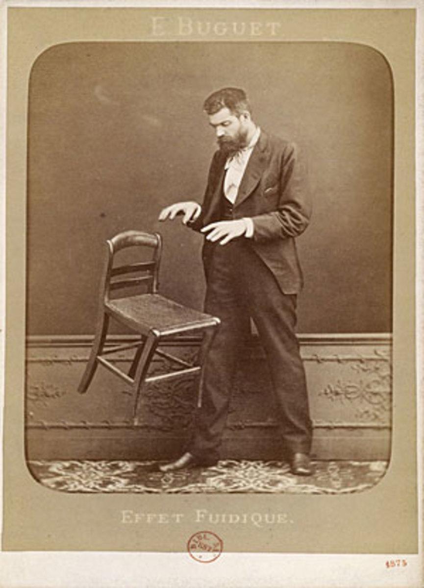 Early demonstration of telekinesis