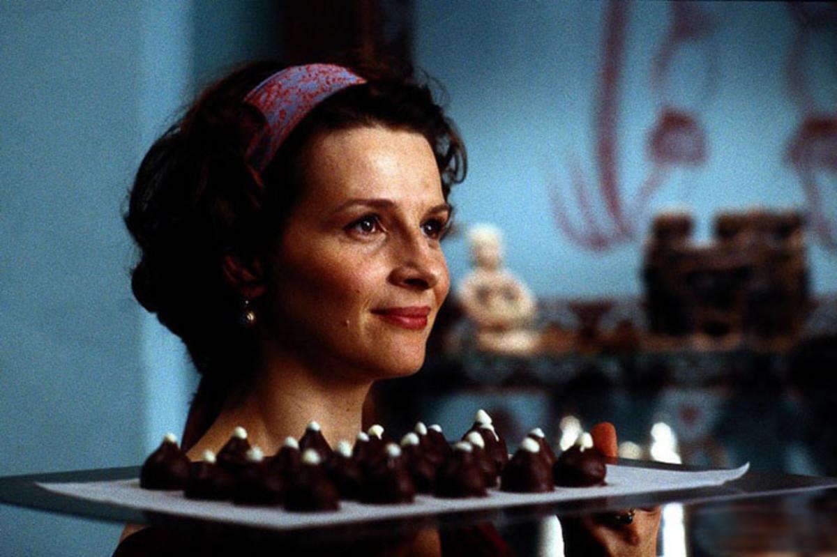 """Juliette Binoche in """"Chocolat"""""""
