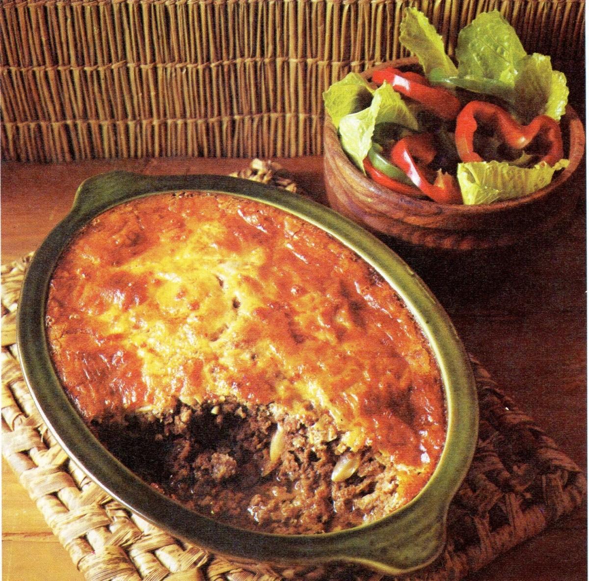 Gourmet Recipe: South African Bobotie