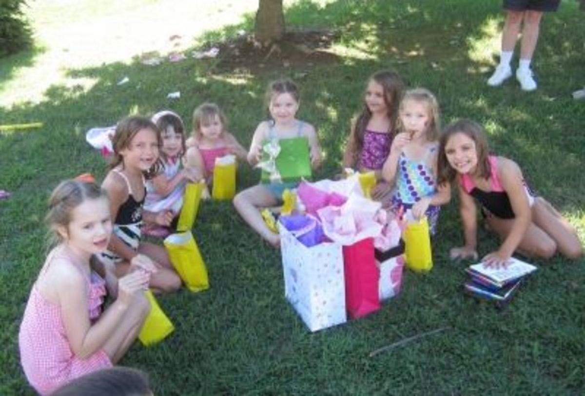 Everyone had a splashingly good time!