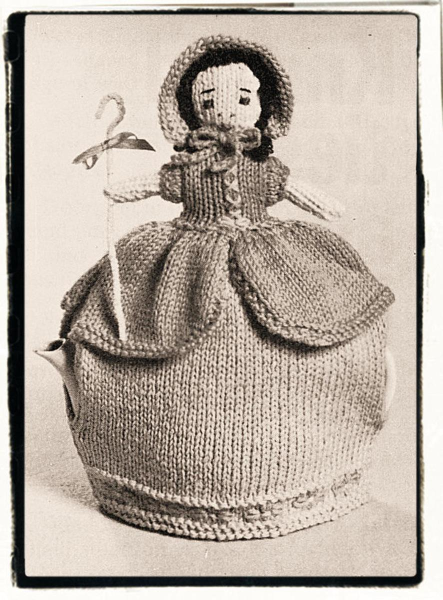 This one is a knit pattern. Most of the patterns I find are crochet. So, here's one for the knitters to get to work on.