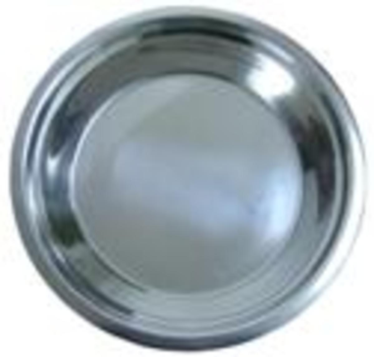 Stainless Pie Pan