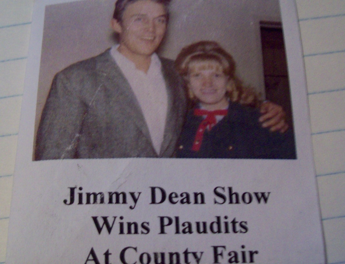 This is from the newspaper clipping my Aunt Arlene saved. It was her day in the spotlight.