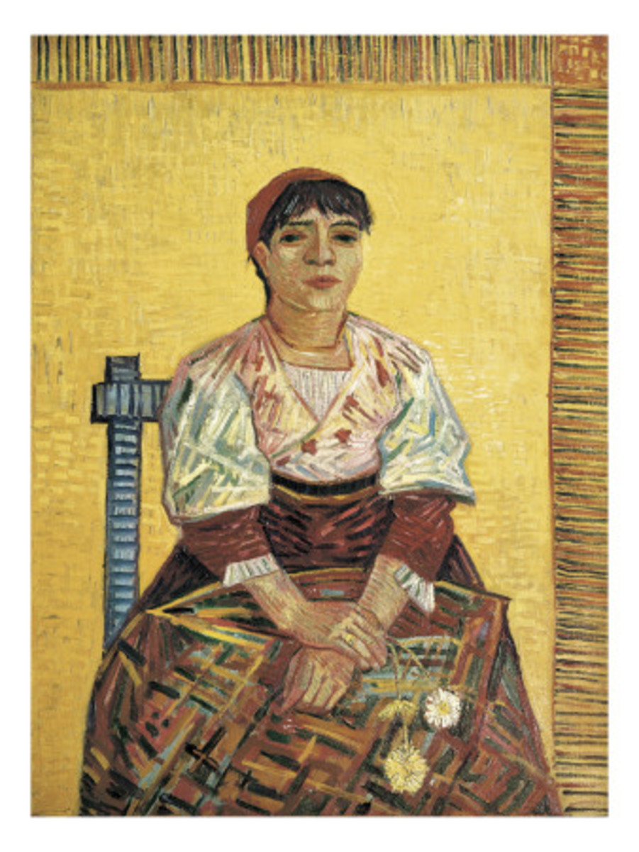 The Italian Woman by Vincent van Gogh