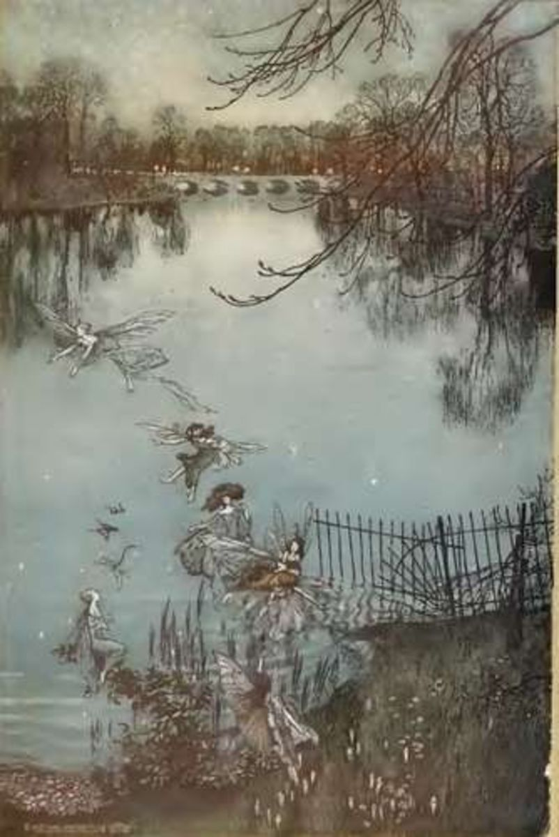 Arthur Rackham: Peter Pan illustrations