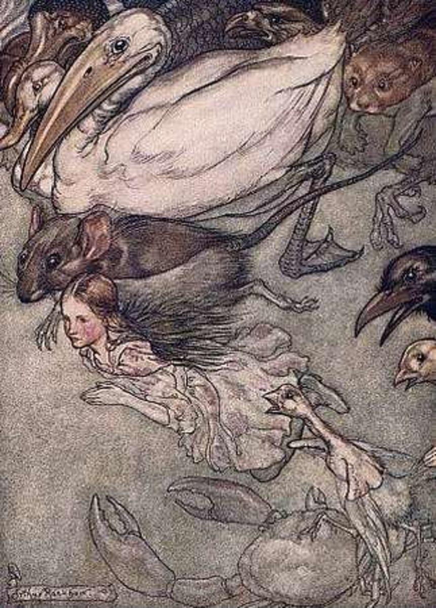 Arthur Rackham: Alice in Wonderland