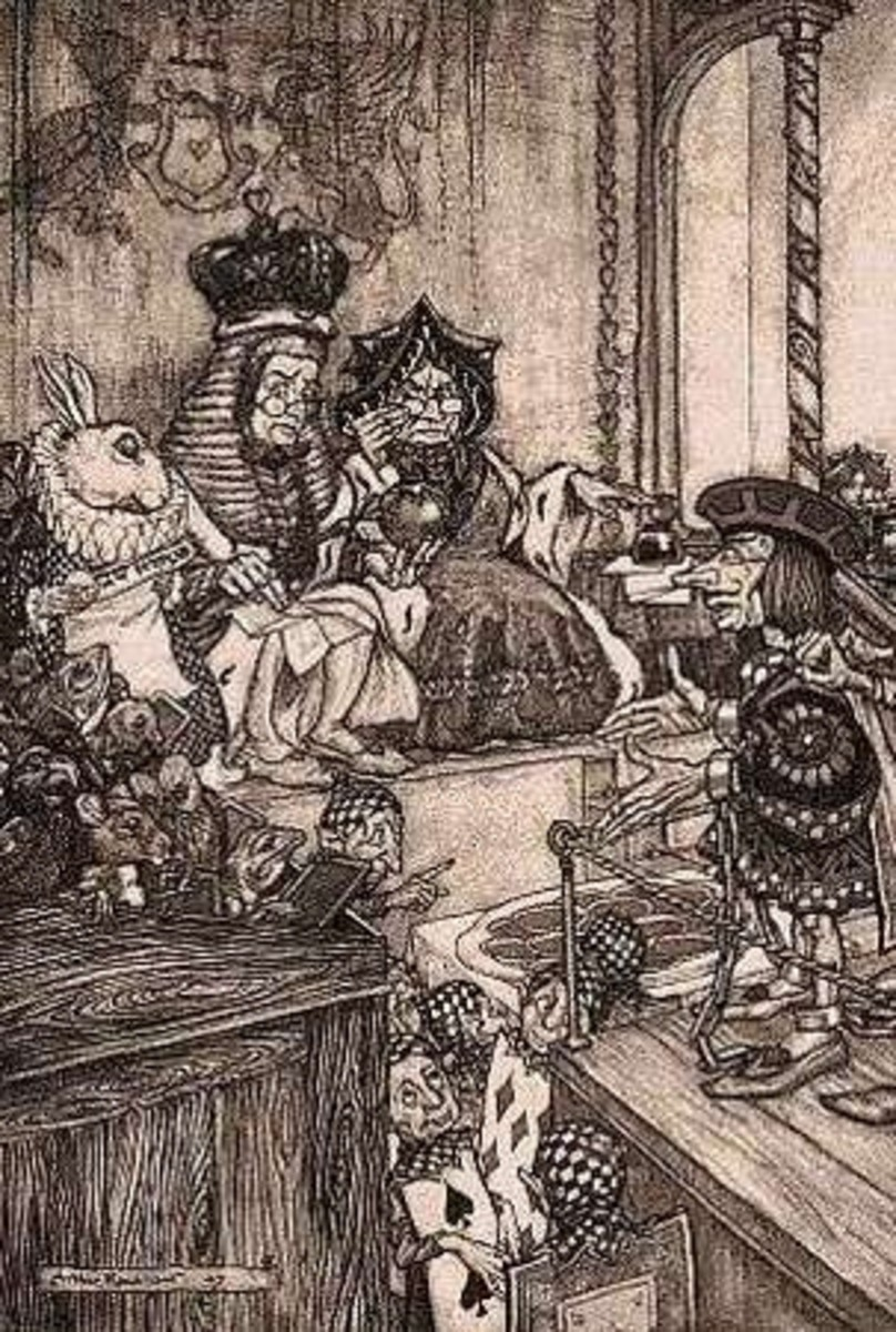Alice in Wonderland, Arthur Rackham illustrations