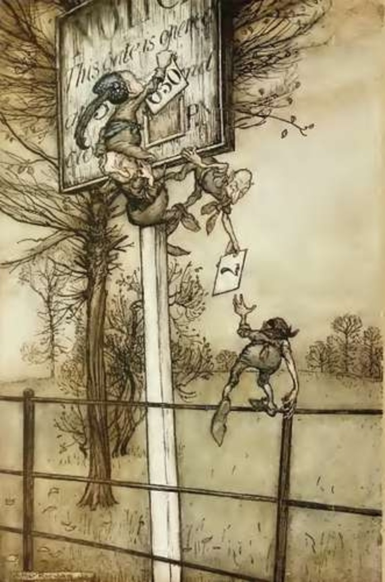 Rackham: Peter Pan
