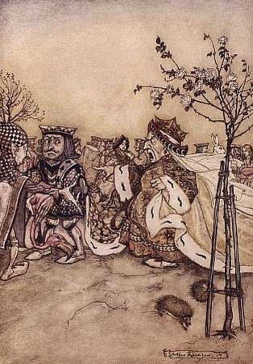 Alice in Wonderland illustrated by Arthur Rackham