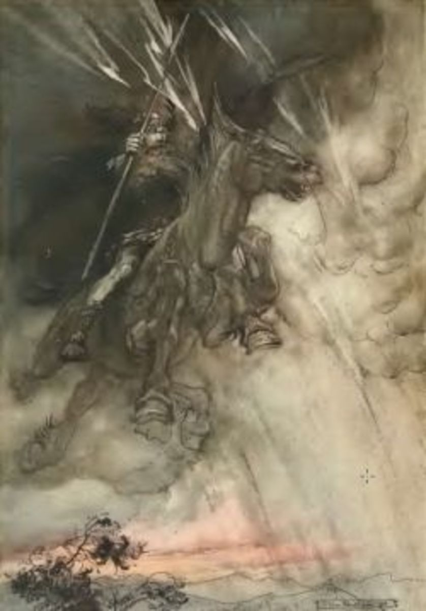 The Rhinegold and The Valkyrie by Arthur Rackham