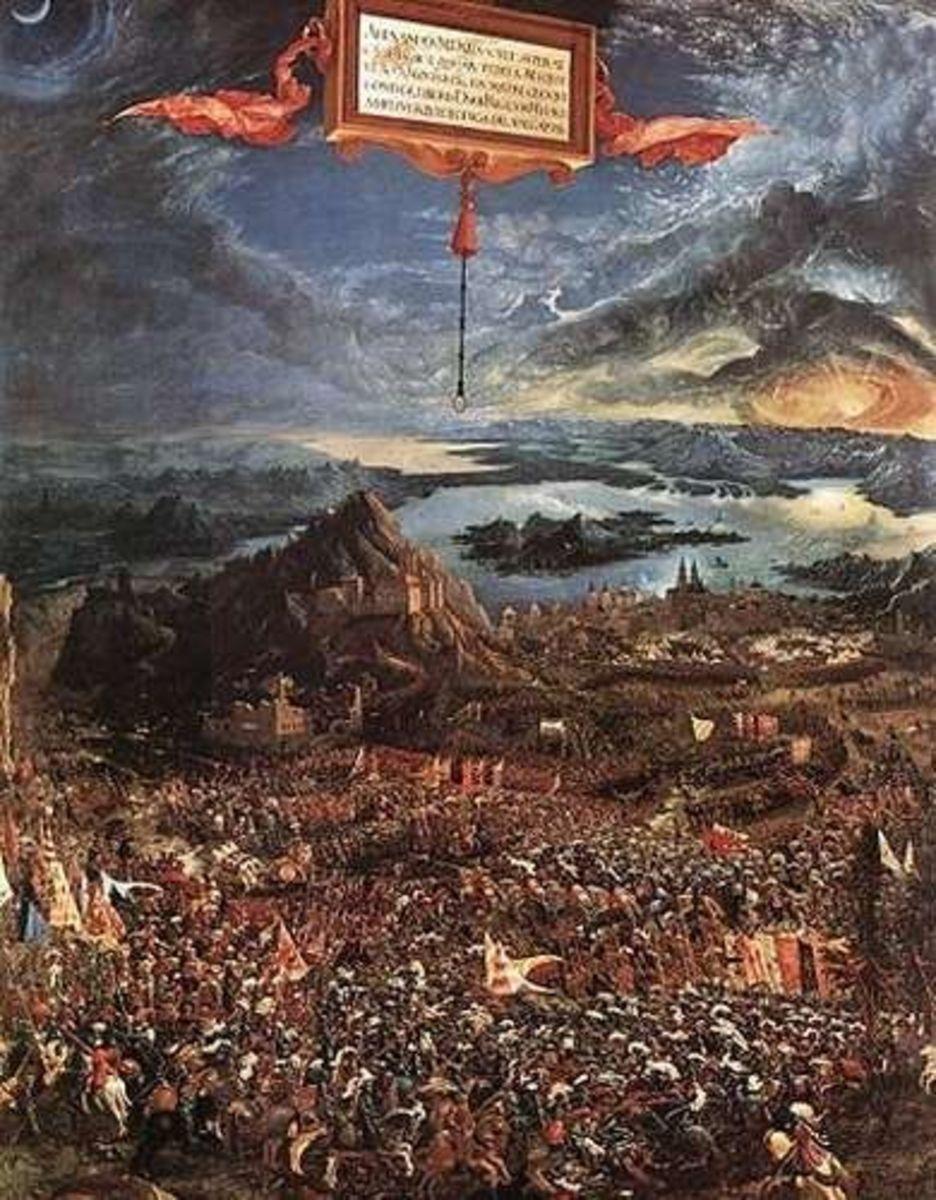 Albrecht Altdorfer: The Battle of Alexander