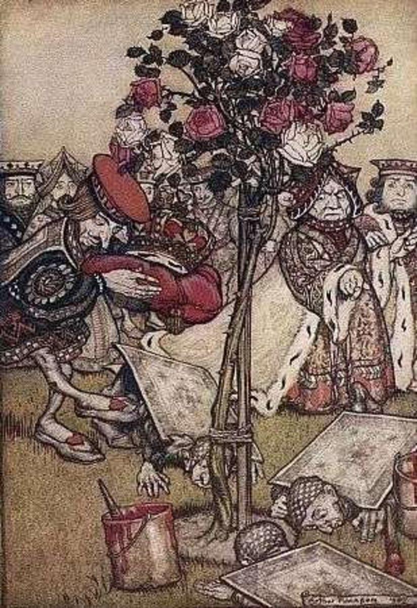 Alice in Wonderland by Rackham