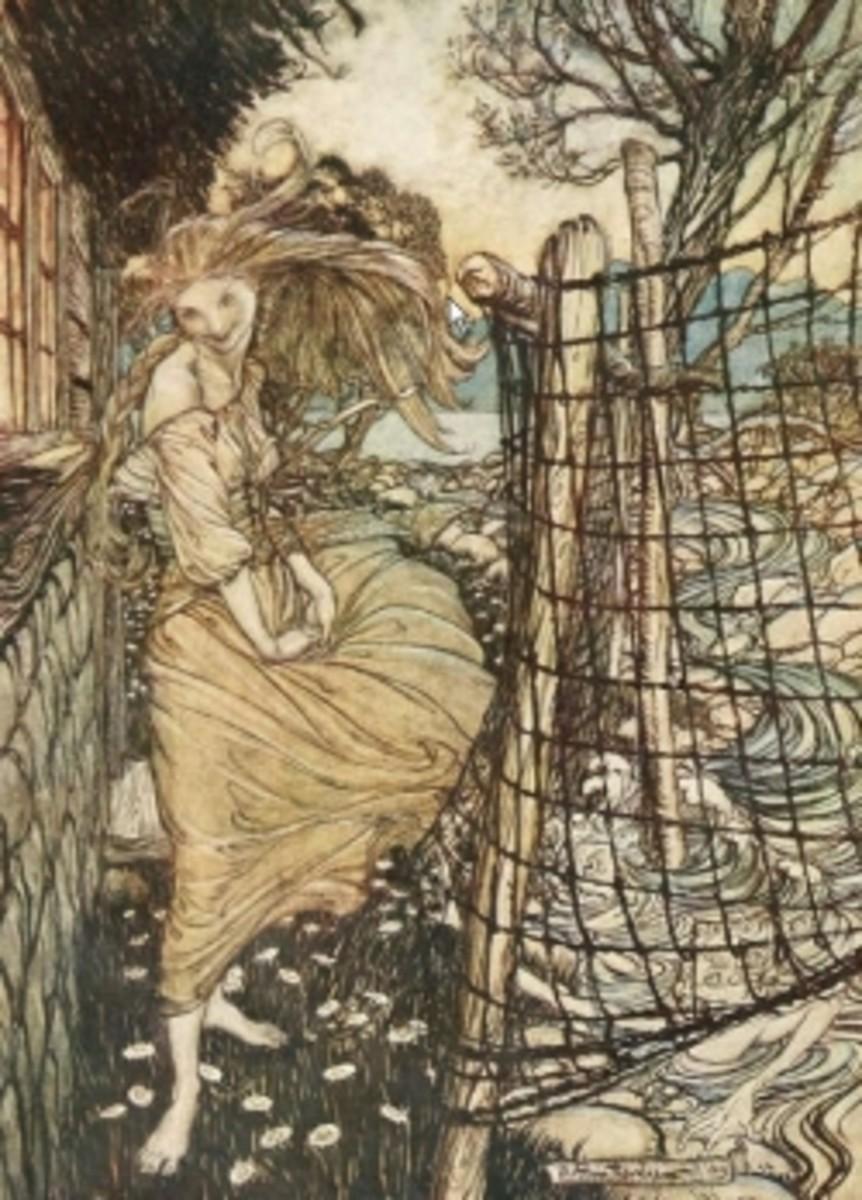 Arthur Rackham: Undine