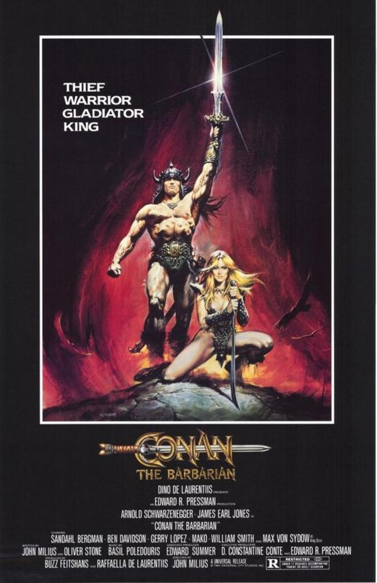 Conan the Barbarian (1982) art by Renato Casaro