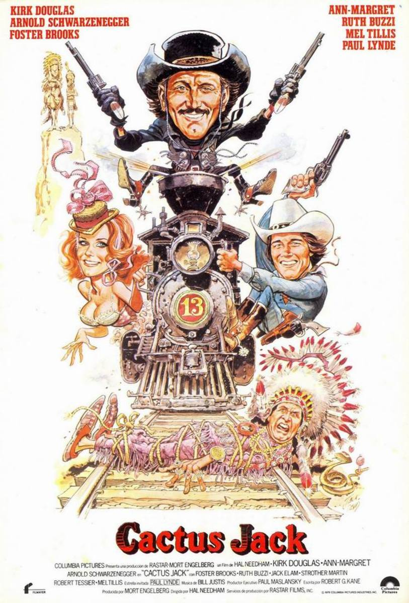 The Villain (1979) poster art by Jack Davis