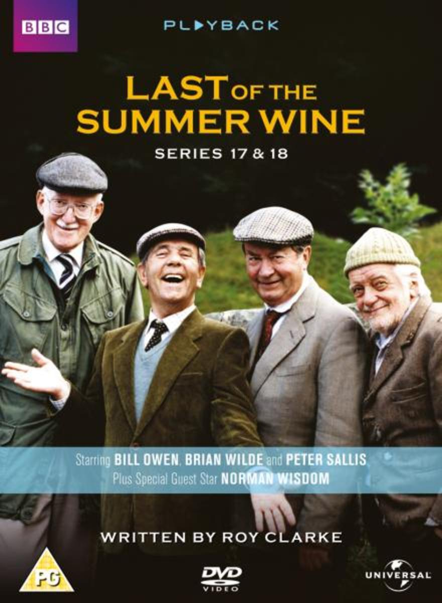 Summer Wine playback - on dvd, with Norman Wisdom - see below, link to Amazon for this 2002 series