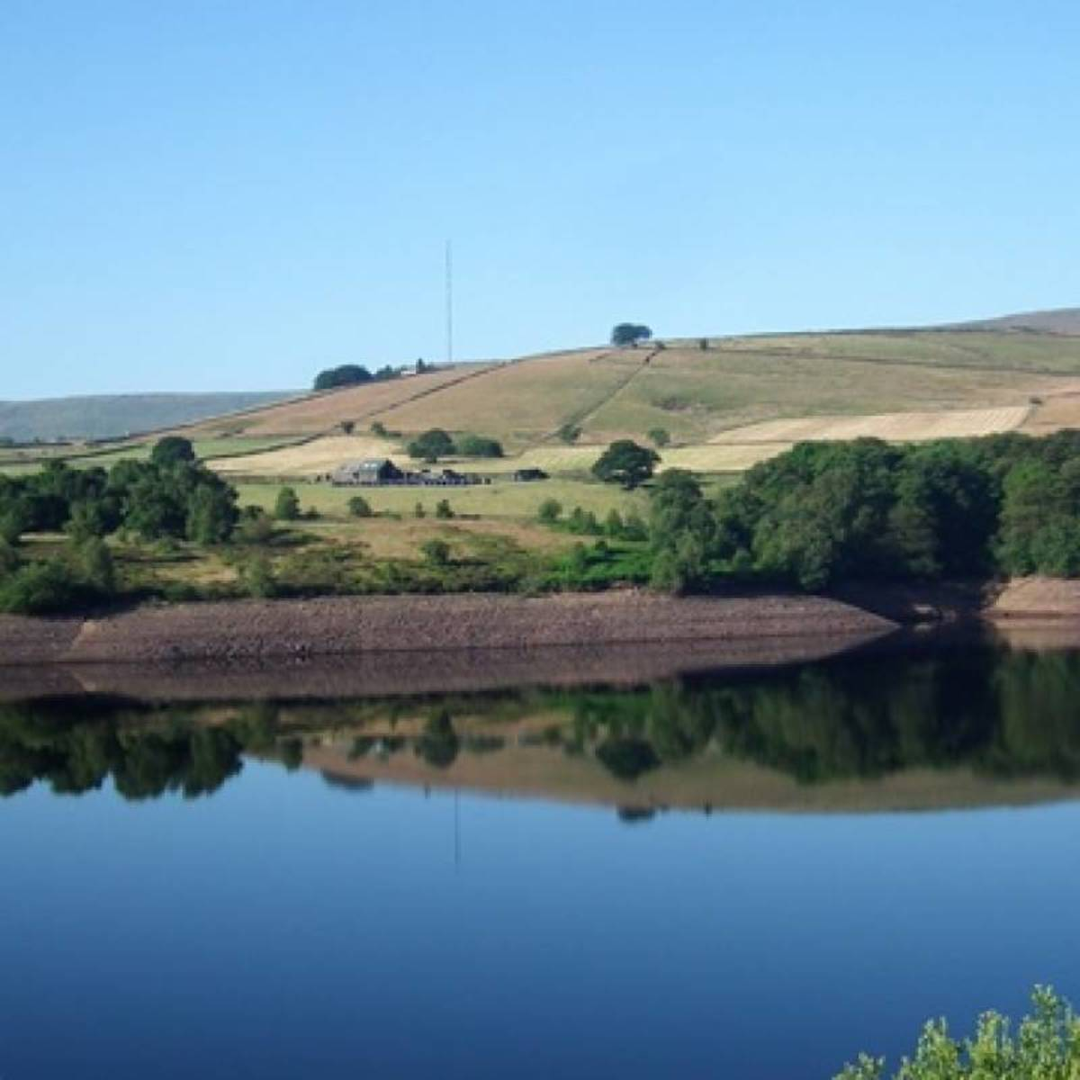 Digley Reservoir, scene of various capers during the 'Summer Wine' series