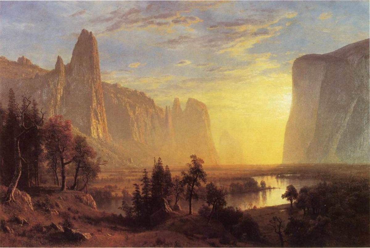Yosemite Valley, Albert Bierstadt