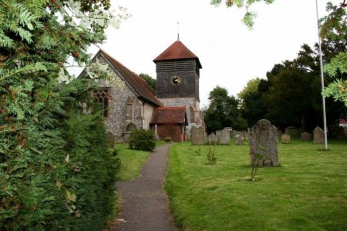 A typical English village church