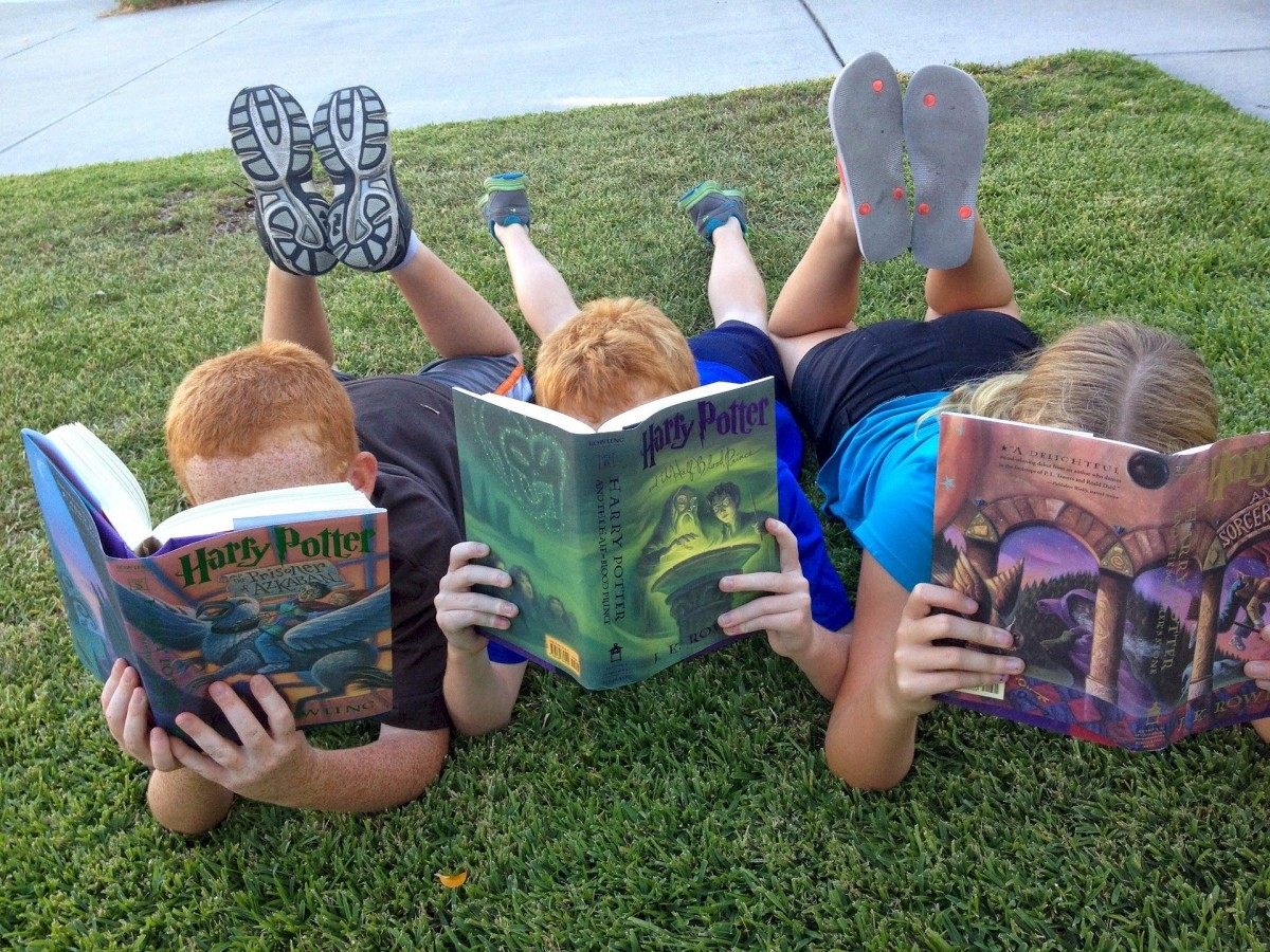 Books encourage learning and help to stimulate the imagination