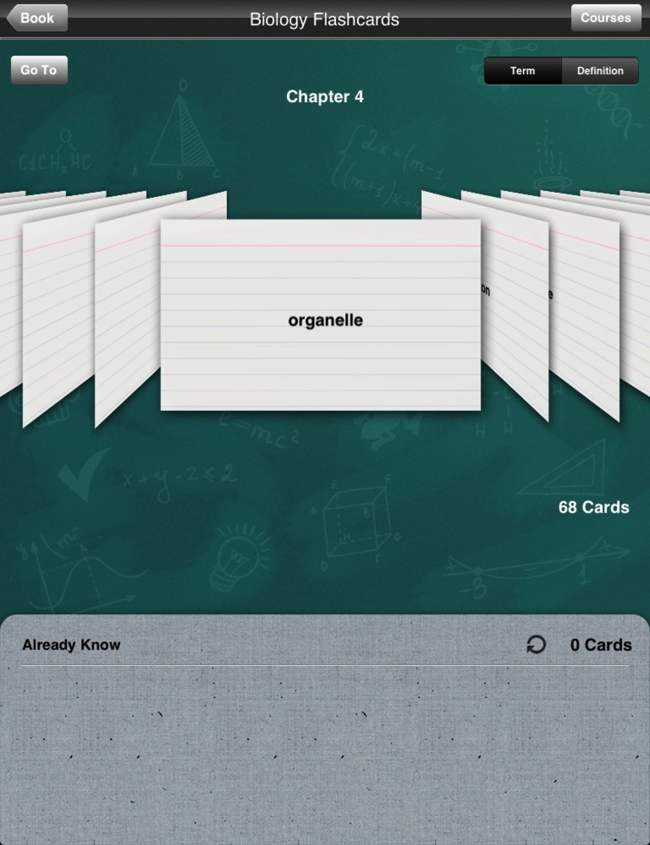 Kno has one amazing feature.  It makes your flashcards for you!